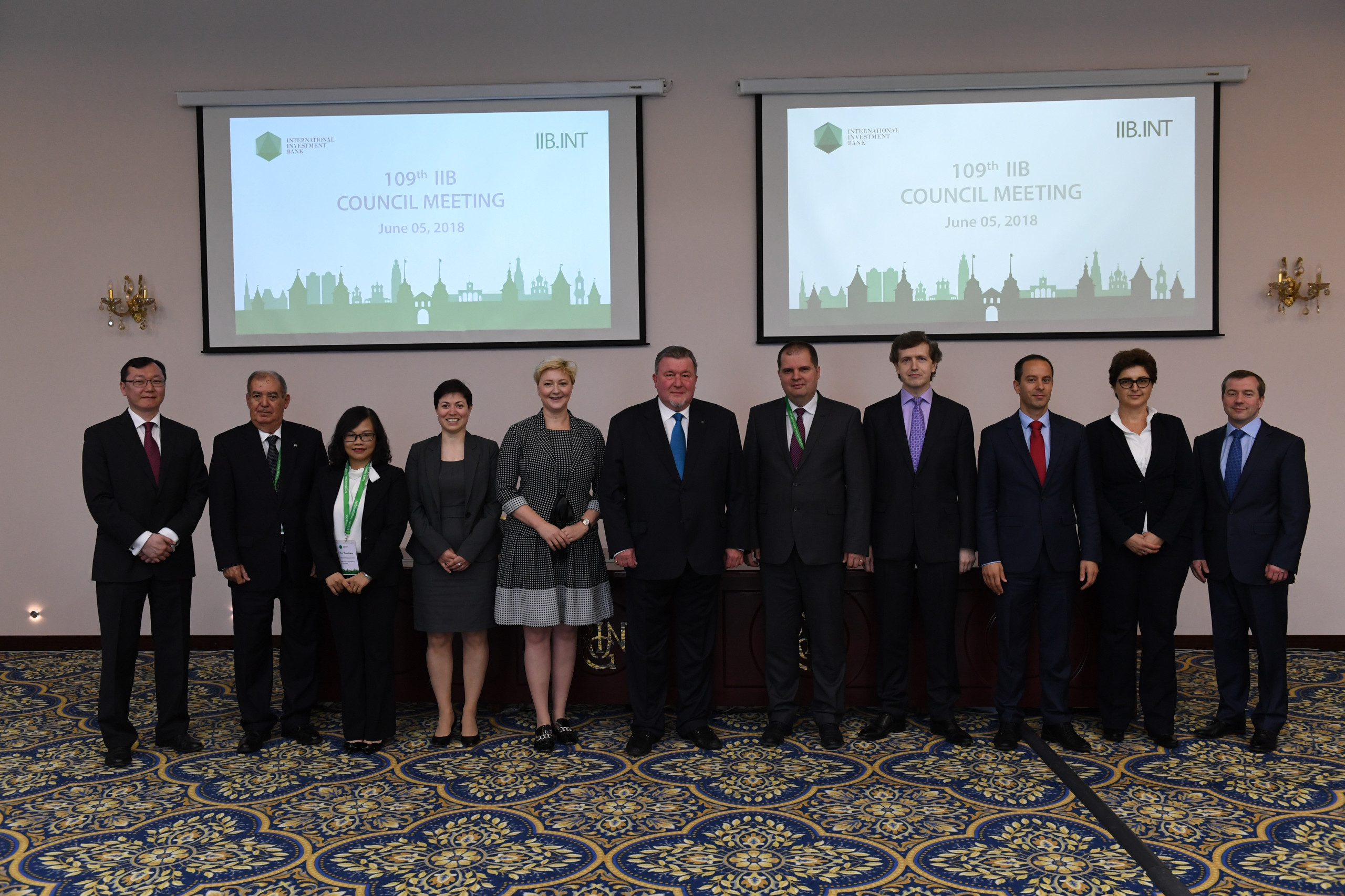 109 IIB COUNCIL MEETING: a new strategic cycle has been launched.