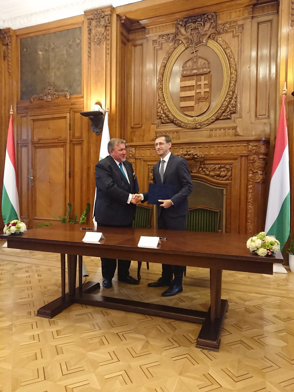 Ministry of Finance of Hungary has issued the press-release welcoming the forthcoming establishment of IIB European Unit in Budapest