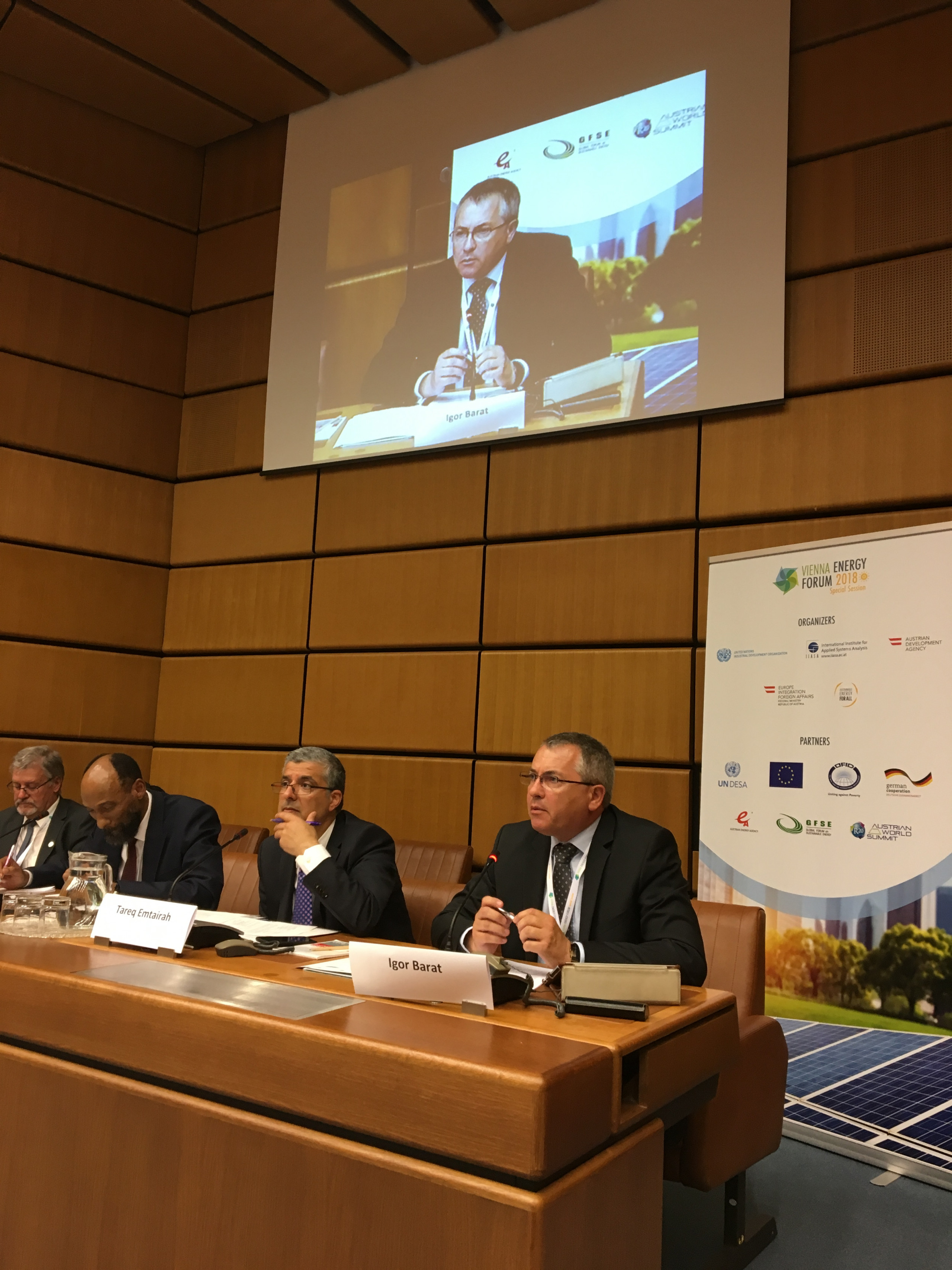 IIB reconfirms its green focus at UNIDO Vienna Energy Forum